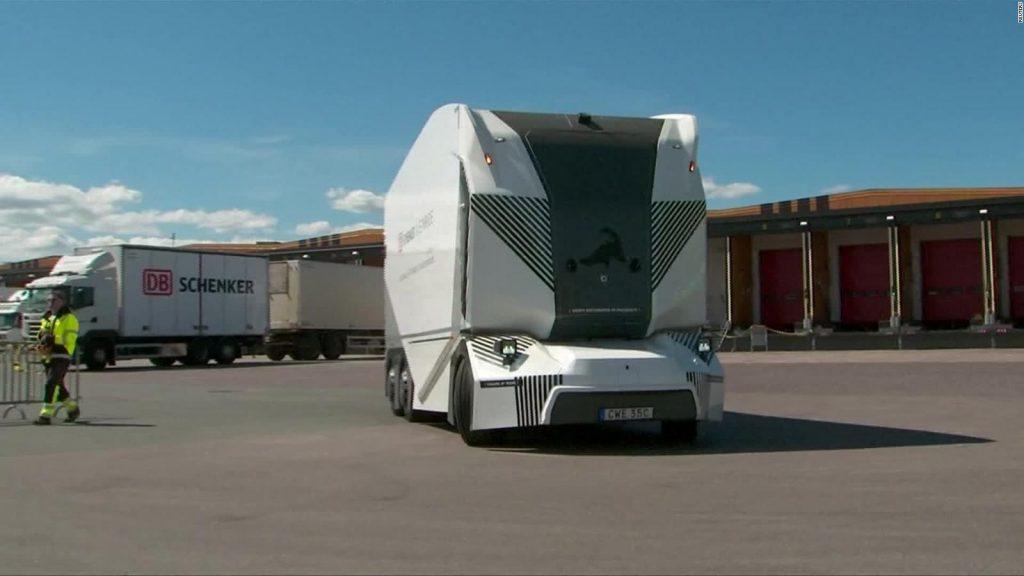 Camión sin conductor se mueve con tecnología 5G en carreteras públicas